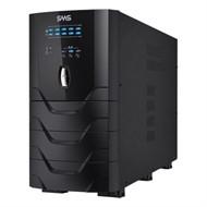 Nobreak SMS Atrium 3000VA 3000W 1860W (Entrada Bivolt /Saída 115V), Expansivel, USB/Serial, com 8 tomadas + Borne - 0027851