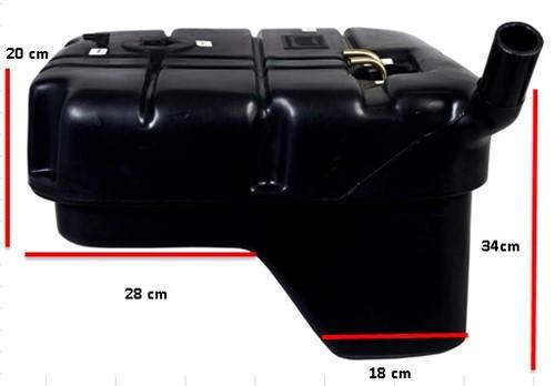 Tanque plástico Toyota Bandeirante - Sem boia (Até 93) - KIT1