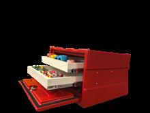 Caixa organizadora (Duas gavetas) - KIT328