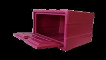 Caixa organizadora Rosa CLA - KIT321