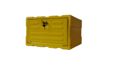 Caixa organizadora Amarela CLA - KIT319