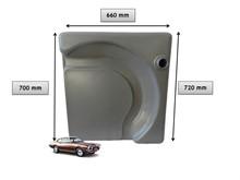 Tanque plástico Maverick com cash tank (Cinza) - KIT105