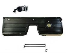 Tanque plástico duplo Jeep Willys (Preto) - KIT16