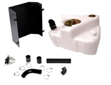 Tanque plástico traseiro Jeep Willys (Branco - Bocal tampa embutida) - KIT21