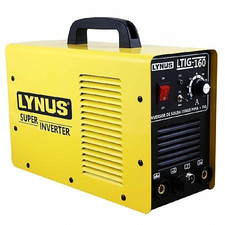 FONTE INVERSORA DE SOLDA 220V LTIG160 - LYNUS