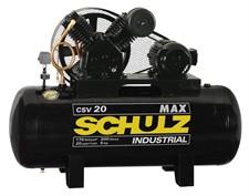 COMPRESSOR MAX 20 PÉS 250 LITROS 175 LIBRAS 5HP SCHULZ