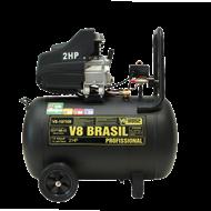 MOTOCOMPRESSOR PROF. 10PÉS/100L 115LB 2.0HP 110 MONOF - V8 BRASIL - 73918