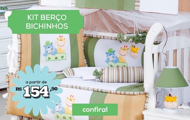 Kit Berço Bichinhos a partir de 154,90