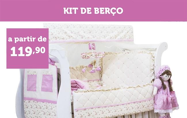 KIT BERÇO A PARTIR DE R$ 119,90