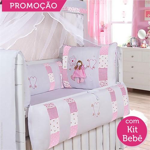 KIT BERÇO ALICE 19 PEÇAS