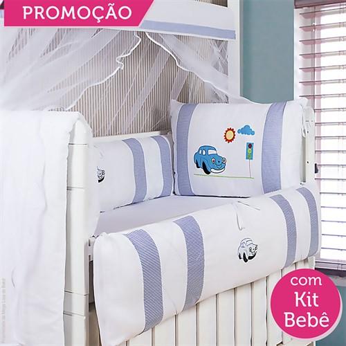 KIT BERÇO FUSQUINHA 19 PEÇAS