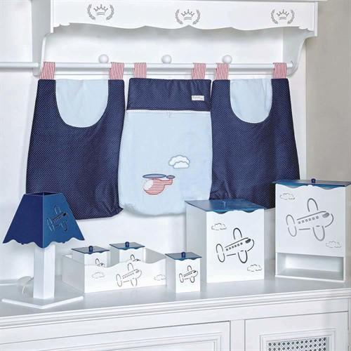 Kit Higiene Aviador MDF