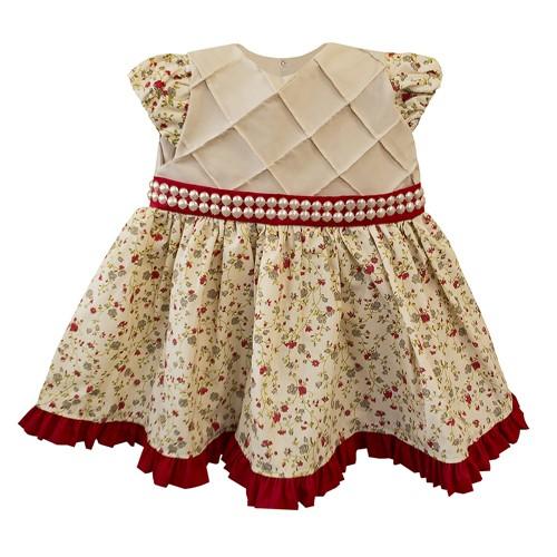 Vestido para Bebê Floral Bianca