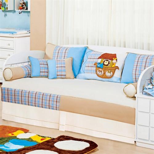 Kit Cama Babá Arca Baby Azul