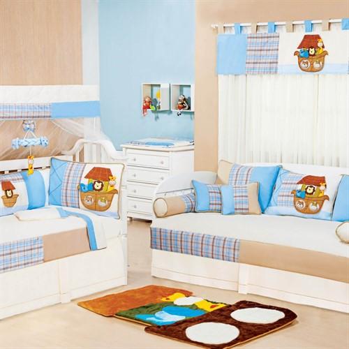 Quarto de Bebê Arca Baby Azul
