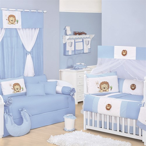 Quarto para Bebê Sem Cama Babá Leãonardo