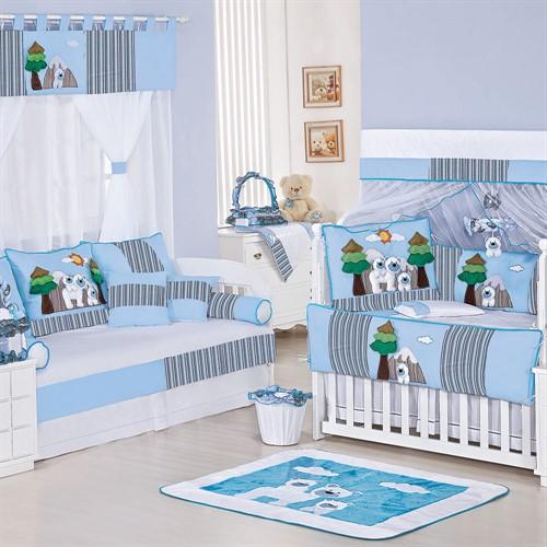 Quarto para Bebê Sem Cama Babá Polar