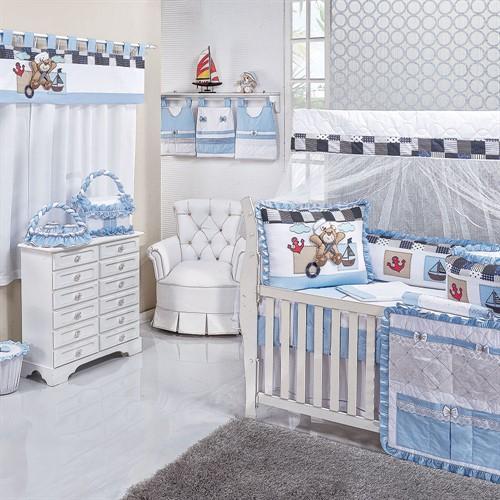 Quarto para Bebê Sem Cama Babá Urso Popi