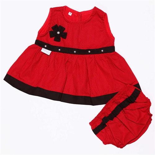 Vestido para Bebê Fashion Vermelho
