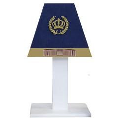 Abajur Coroa Luxo MDF
