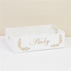 Cesta Baby Gold