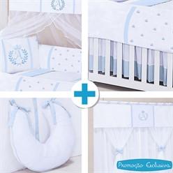 Combo Collection Feito a Mão Azul Bebê
