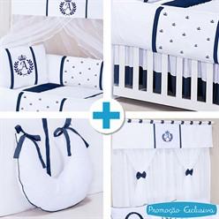 Combo Collection Feito a Mão Azul Marinho