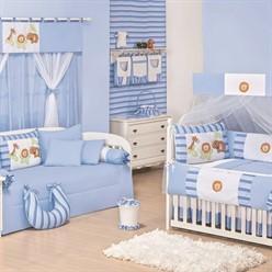 Quarto para Bebê Sem Cama Babá Zoo Baby