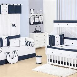 Quarto para Bebê Sem Cama Babá Jeans