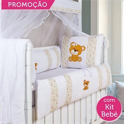 KIT BERÇO LAURA 19 PEÇAS