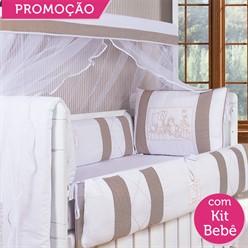 KIT BERÇO SELVINHA 19 PEÇAS