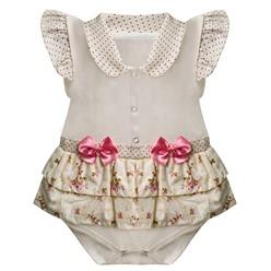 Body para Bebê Floral