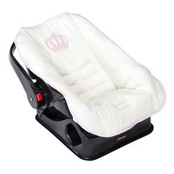 Capa para Bebê Conforto Realeza New Rosa