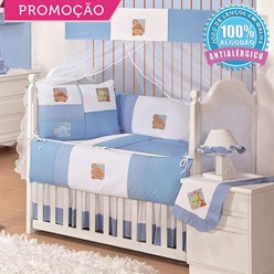 KIT BERÇO BABY ZOO 10 PEÇAS