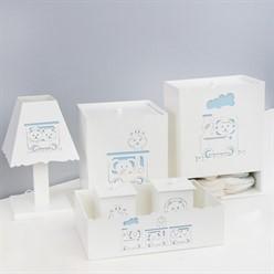 Kit Higiene Trenzinho Azul