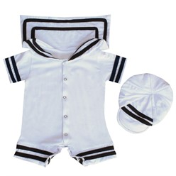 Macacão para Bebê Manga Curta Heitor