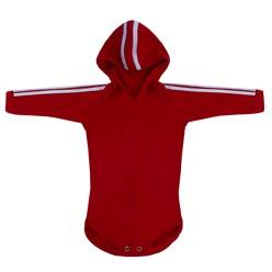 Body para Bebê Sport Vermelho