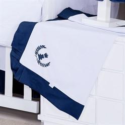 Manta Piquet Realeza Azul Marinho