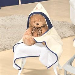 Toalha de Banho com Capuz Realeza Luxo