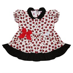 Vestido para Bebê Joaninha