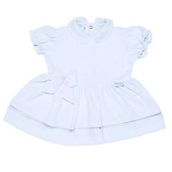 Vestido para Bebê Menina Laço
