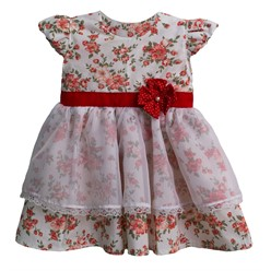 Vestido para Bebê Menina Mimo