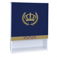 Porta Fralda Coroa Luxo MDF