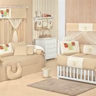Quarto para Bebê Sem Cama Babá Zoo