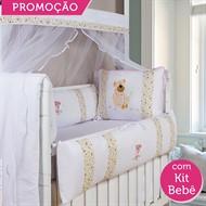 KIT BERÇO MANUELA 19 PEÇAS