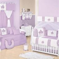 Quarto para Bebê Sem Cama Babá Princesinha