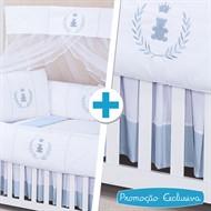 Combo Essencial Realeza Azul Bebê