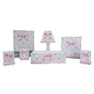 Kit Higiene Completo Pérola Floral