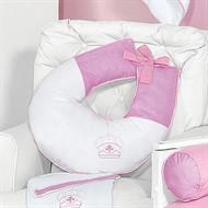 Almofada para Amamentação Realeza Rosa Baby