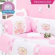 KIT BERÇO CHARMINHO 10 PEÇAS